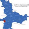 Map Landkreis Dahme Spreewald Drahnsdorf