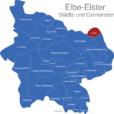 Map Landkreis Elbe Elster Crinitz