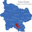 Map Landkreis Elbe Elster Elsterwerda