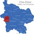 Map Landkreis Elbe Elster Falkenberg_Elster