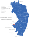 Map Landkreis Görlitz Beiersdorf