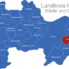 Map Landkreis Havelland Brieselang