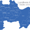 Map Landkreis Havelland Falkensee