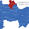 Map Landkreis Havelland Friesack