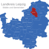 Map Landkreis Leipzig Bennewitz