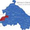 Map Landkreis Märkisch Oderland Altlandsberg