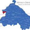 Map Landkreis Märkisch Oderland Beiersdorf-Freudenberg