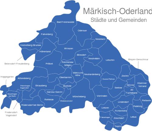 Landkreis Märkisch Oderland