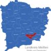 Map Landkreis Meißen Coswig