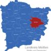 Map Landkreis Meißen Ebersbach