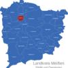 Map Landkreis Meißen Glaubitz