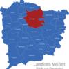 Map Landkreis Meißen Großenhain