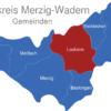 Map Landkreis Merzig Wadern Losheim