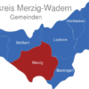 Map Landkreis Merzig Wadern Merzig