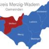 Map Landkreis Merzig Wadern Mettlach
