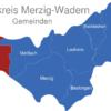 Map Landkreis Merzig Wadern Perl