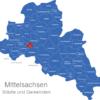 Map Landkreis Mittelsachsen Altmittweida