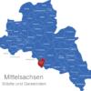 Map Landkreis Mittelsachsen Augustusburg
