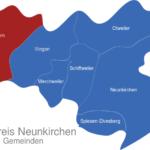 Map Landkreis Neunkirchen Eppelborn