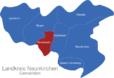 Map Landkreis Neunkirchen Merchweiler