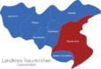 Map Landkreis Neunkirchen Neunkirchen