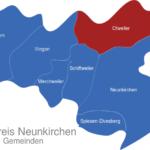 Map Landkreis Neunkirchen Otweiler