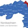 Map Landkreis Nordsachsen Beilrode