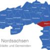 Map Landkreis Nordsachsen Belgern-Schildau