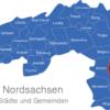 Map Landkreis Nordsachsen Cavertitz