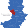 Map Landkreis Oberspreewald Lausitz Bronkow