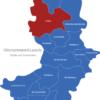 Map Landkreis Oberspreewald Lausitz Calau