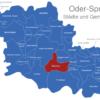 Map Landkreis Oder Spree Beeskow