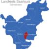 Map Landkreis Saarlouis Ensdorf