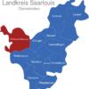 Map Landkreis Saarlouis Rehlingen-Siersburg