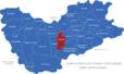 Map Landkreis Sächsische Schweiz Osterzgebirge Bahretal
