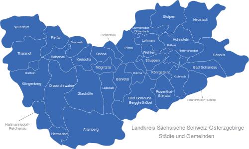 Landkreis Sächsische Schweiz Osterzgebirge