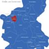 Map Landkreis Spree Neiße Dissen-Striesow
