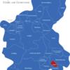 Map Landkreis Spree Neiße Dobern