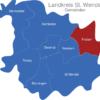 Map Landkreis St  Wendel Friesen