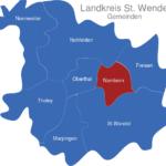 Map Landkreis St  Wendel Namborn