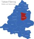 Map Landkreis Teltow Fläming Am_Mellensee