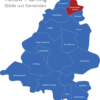 Map Landkreis Teltow Fläming Blankenfelde-Mahlow
