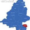 Map Landkreis Teltow Fläming Dahmetal