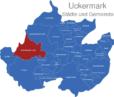 Map Landkreis Uckermark Boitzenburger_Land