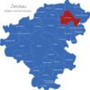 Map Landkreis Zwickau Callenberg