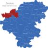 Map Landkreis Zwickau Crimmitschau