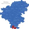 Map Landkreis Zwickau Crinitzberg