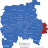 Map Leipzig Ortsteile Althen-Kleinpösna