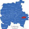 Map Leipzig Ortsteile Baalsdorf
