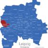 Map Leipzig Ortsteile Burghausen-Rückmarsdorf